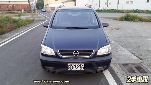 中古車 OPEL Zafira 2.2 圖片