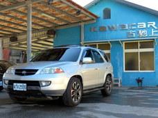 古馳上精選實價2003年4月出廠ACURA MDX七人座運動休旅車 台本保修無虞