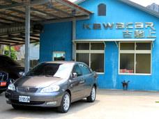 古馳上實價可刷卡2007年3月出廠豐田ALTIS E版1.8全原廠整備 車況如新