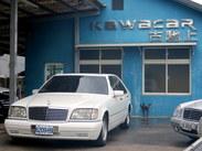 古馳上精選實價刷卡1997 BENZ S320總代理稀有原廠白色電子油門 可刷卡
