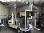 電動鷗翼 行動餐車 已完成白鐵裝潢 實跑4萬5公里 鹿港歐力克