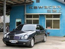 古馳上實價 可刷卡1998年2月出廠BENZ E240 5速自排雙電動真皮座椅
