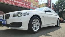 ☆╮益群汽車╭☆14年BMW 520I總代理豪華版小改款 全車原鈑件一手車