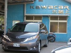 古馳上實價全額刷卡2012年6月出廠 豐田SIENNA XLE AWD稀有福祉車