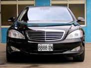 古馳上精選實價 2008年5月出廠 BENZ S500長軸夜視 鐵支車號8888