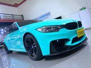 2016年式 BMW F80 M3 Tiffany綠膜包8萬 腳踢尾門