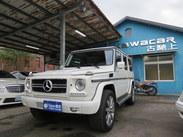 古馳上精選實價 2008 賓士 G500L 原廠白色 日規長軸少跑 未領牌 高貸