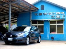 古馳上實價可刷卡2010年5月出廠VW GOLF 1.6TDI 柴油節能車況極優
