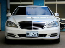 古馳上實價2010年3月出廠BENZ S400HL 總代理 原廠白色 夜視系統